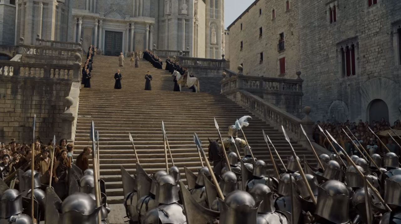 Game Of Thrones In Girona Season 6