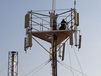 Una imatge d'arxiu de l'antena del Camí del Mig de Mataró./  Foto:EL PUNT