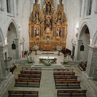 Església, interior restaurada