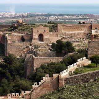 Vista del castell de Sagunt