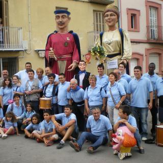 Gegants i geganters de Sant Andreu de Llavaneres
