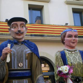 Gegants vells del casal de Llavaneres