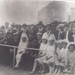 Principis de l'any 1900 inauguració del camp de futbol