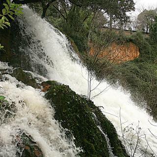 Martís de Dalat, Clot de Espolla, riuades provocades per la pluja a la Garrotxa seguint el Fluvià