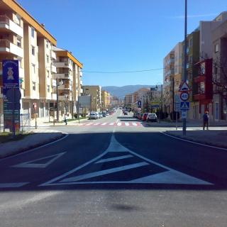 Avinguda de València; avinguda principal de la població