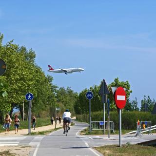Cami de la platja del Prat