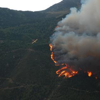 Incendi a la Vall del Carol