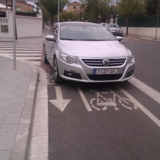 El gran respecte als carrils bici...