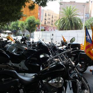 Cap a la independencia en moto