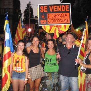 La pancarta més fotografiada