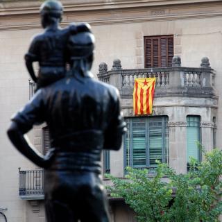 Més de 1000 estelades a Valls
