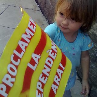 Una catalana d'un any amb nom saharaui... La SMARA ...