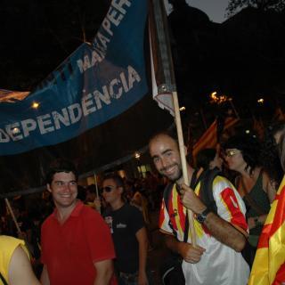 Sant Quintí marxa sobre Barcelona