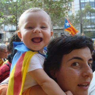 La Magalí cridant per tenir un futur en llibertat