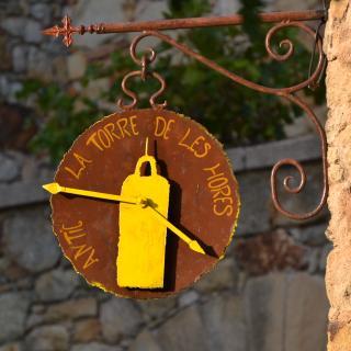 Original rellotge representatiu de la Torre de les Hores