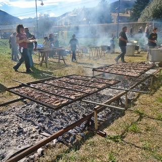 Festa i fira de la matança del porc a la Cellera de Ter 2013