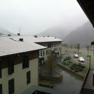 Neu a Ribes de Freser aquest diumenge al matí