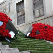 Milers de persones omplen els carrers de Girona en el festival Temps de Flors