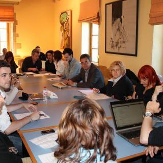 Reunió del Consell de NECat a Sant Celoni