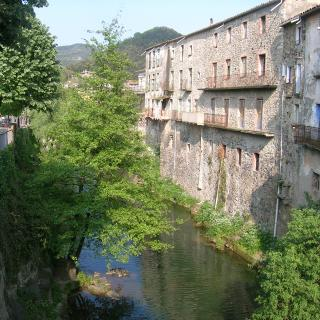 Vista del Riu Ribrugent des del pont