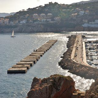 Escullera del port