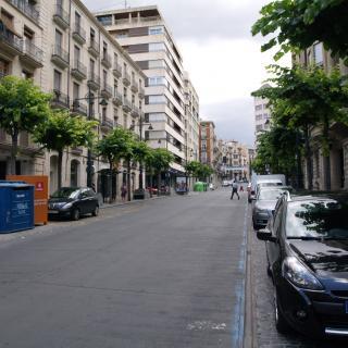 Vista general de l'avinguda del País Valencià