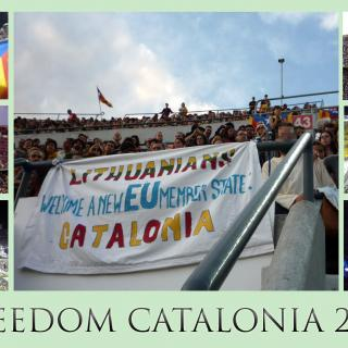Lithuanians Welcome a New EU Member State: CATALONIA