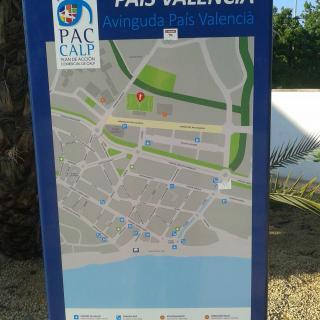 Calp. Avinguda del País Valencià