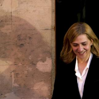 Durant més de sis hores, Cristina de Borbó ha respost tranquil·la a les preguntes del jutge, el fiscal i l'advocacia de l'Estat