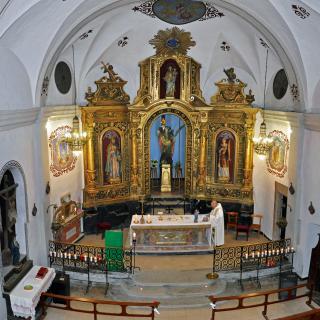 Santa Afra, Altar Major