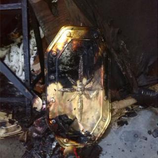 Foc a Can Ratés - Es crema el material del Pessebre Vivent