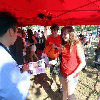 L'accés al Canet Rock 2014