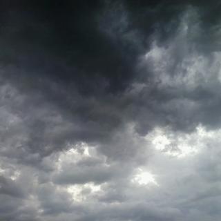 el cel ahir al capvespre