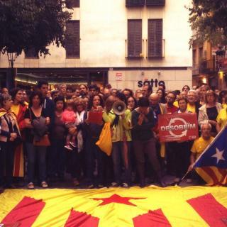 Manifestació en contra TC. Ahir a Esparreguera