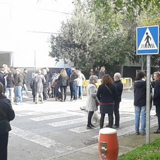 Des de l'escola de Folgueroles: xocolatada, vots i molt bon ambient!