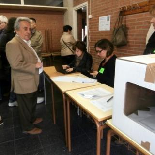 Votacions a Sant Cugat.