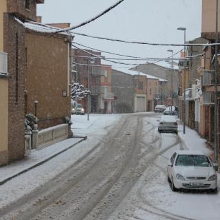 Vallfogona de Balaguer s'ha aixecat amb els carrers blancs