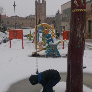 Montblanc, rere el convent de Sant Francesc