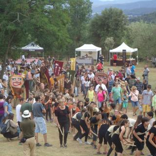 festa Remença de la Vall del Llémena 2015 a Canet d´ Adri