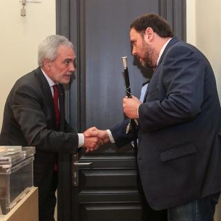 Oriol Junqueras, investit alcalde de Sant Vicenç dels Horts