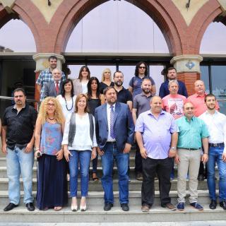 Els nous regidors de l'Ajuntament de Sant Vicenç dels Horts