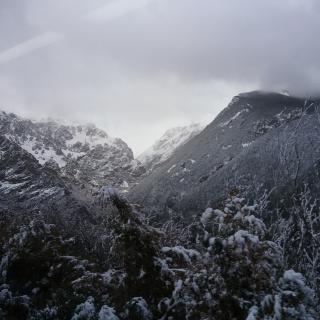 Baixant amb el cremallera de Vall de Núria