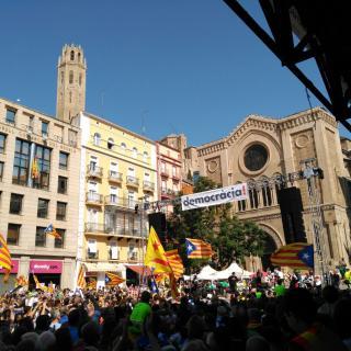 Marató per la Democràcia, Lleida