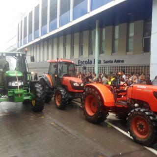 Tractors a l escola Pia Santa Anna de Mataro
