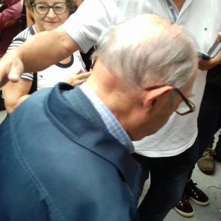 blanenc més vell del poble(Joaquim) vota! 107 anys crec que té.