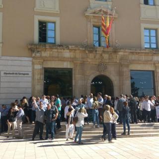 15`de silenci a la Diputació de Tarragona