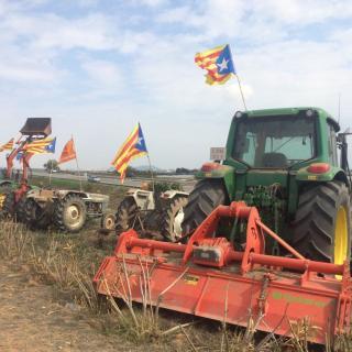 Tractors a la C32 Viladecans