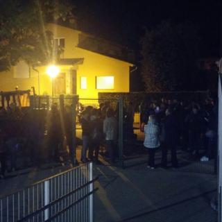 Escola Rocalba de Sant Feliu de Pallarols l'1 d'octubre