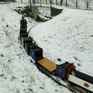 Trenet del Parc Vallparadís, a Terrassa