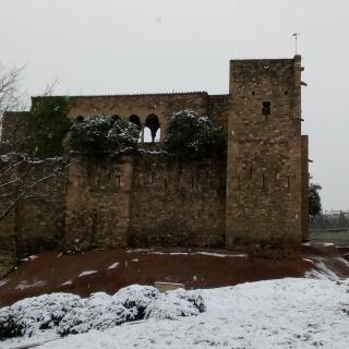 Castell de Cartoixa, Parc Vallparadís, a Terrassa